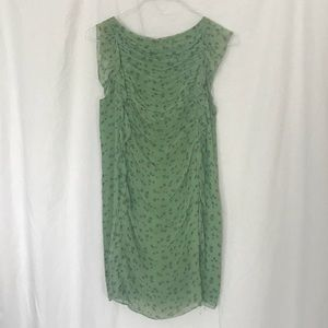 Lime Green Phillip Lim Floral Print Sun Dress!